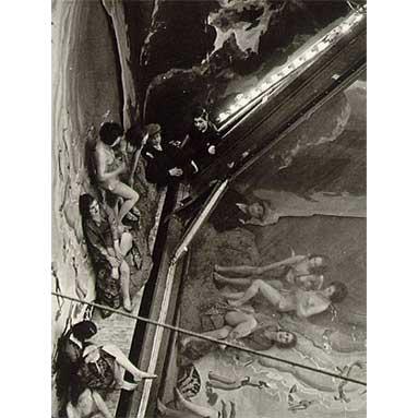 Brassai_Backstage_at_the_Folies-Bergere_1933