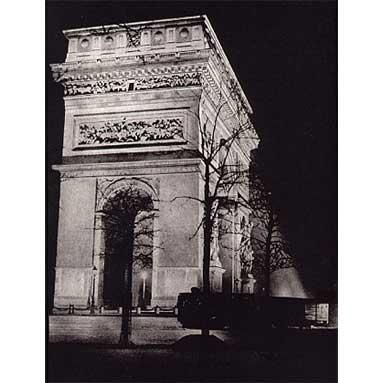 Brassai_Arc_De_Triomphe_1933