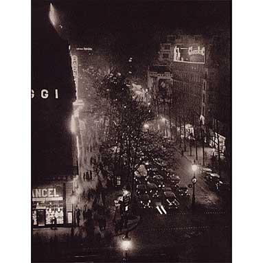 Brassai_Boulevards_at_the_Place_de_L'Opera_1933