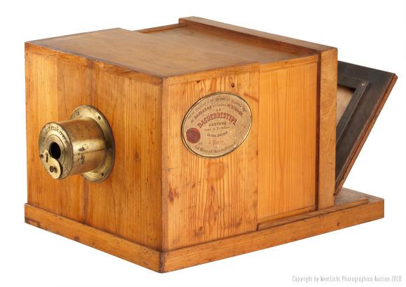 Daguerreotype Giroux Camera