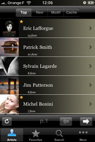 iFolio iPhone App