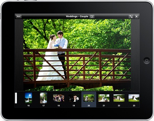 iPad application Portfolio Viewer