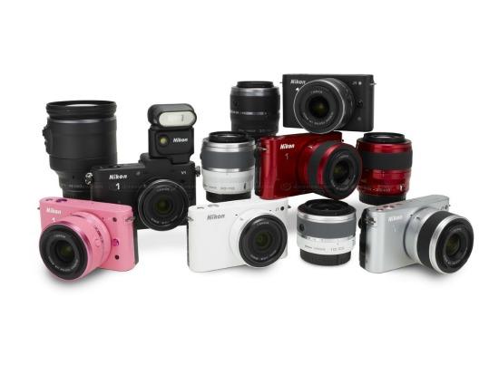 Nikon 1 system camera range, Nikon 1 V1, Nikon 1 J1