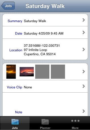 Photojot iPhone App