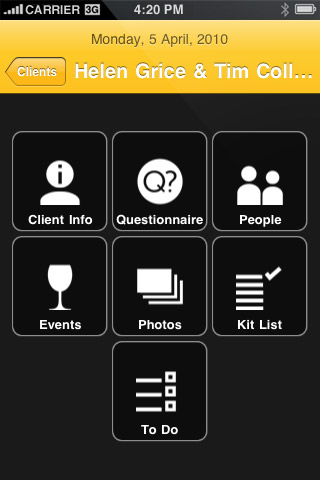 Second Shootr iPhone App