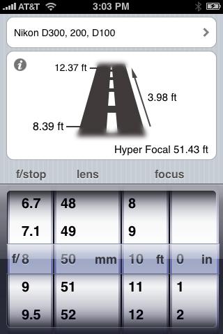 Simple DOF iPhone App