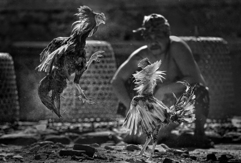 Hubert Januar, winner in the Arts & Culture category , Sony World Photography Awards Open competition