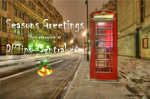 Season Greeting, Christmas from DPTips-Central.com