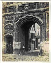 Christchurch_Gateway,Canterbury,Francis Bedford,1860