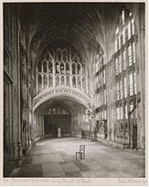 Frederick_Evans-Gloucester_Cathedral.Lady_Chapel,to_West